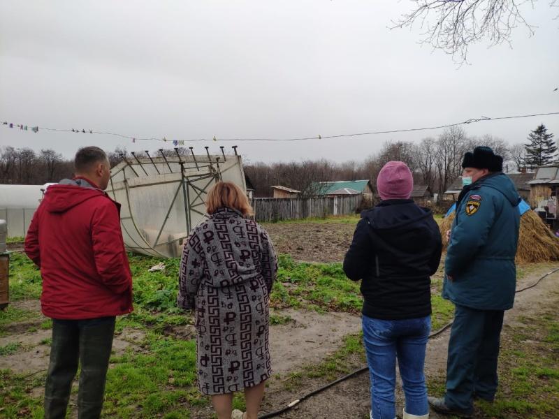 В    Смирныховском    районе    продолжается спад уровня воды