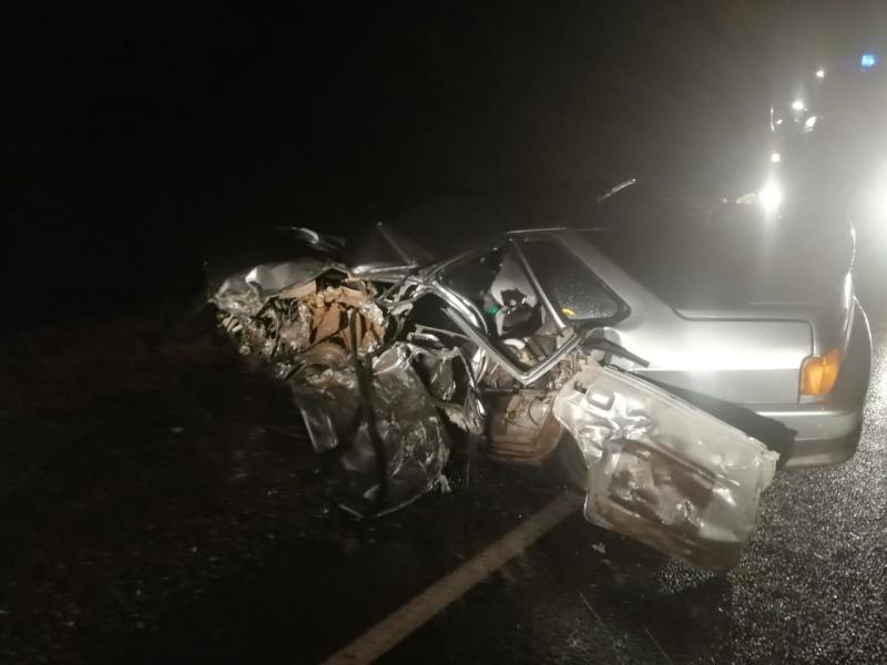 Сотрудники МЧС ликвидировали последствия ДТП на трассе Самара-Оренбург