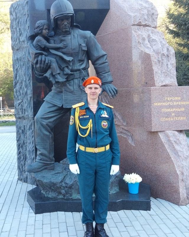 Новосибирский огнеборец стал лучшим пожарным в Сибири