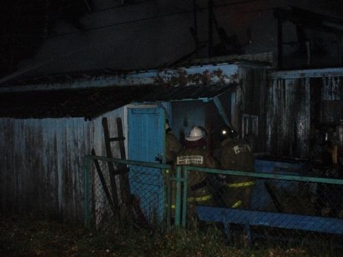Пожарно-спасательные подразделения приняли участие в ликвидации пожара в г.о. г. Бор