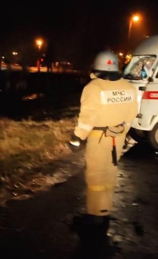 Спасатели МЧС России приняли участие в ликвидации ДТП в городе Новый Оскол Белгородской области