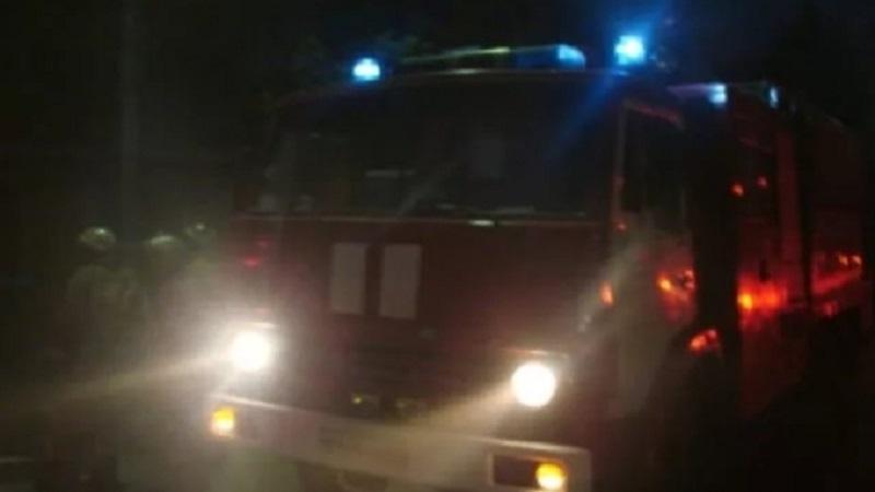 Пожар в Сакмарском районе