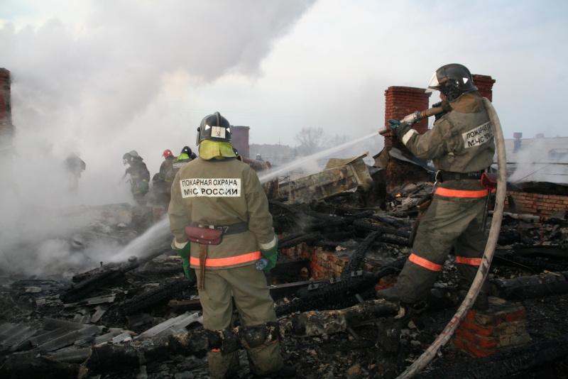 В с. Пайвино Маслянинского района на ул. Луговая произошло возгорание в частном доме