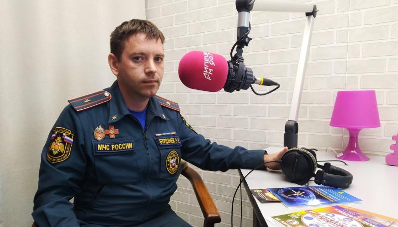 """О правилах пожарной безопасности в частном доме в программе """"Визави"""" на Липецк-FM"""