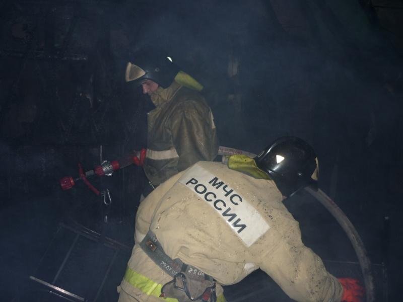 Пожар в Октябрьском районе г.Томска