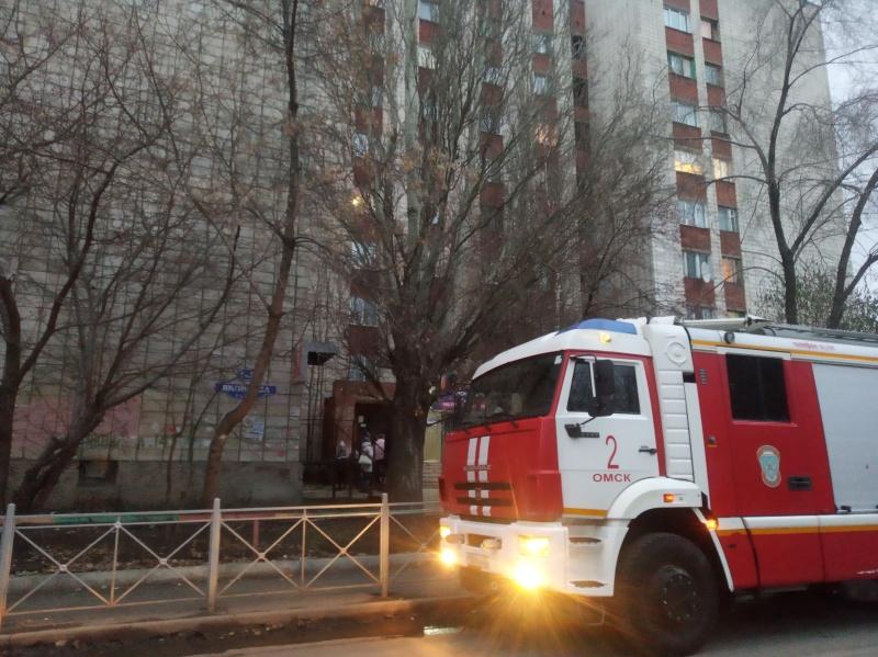 Омские пожарные спасли 12 человек