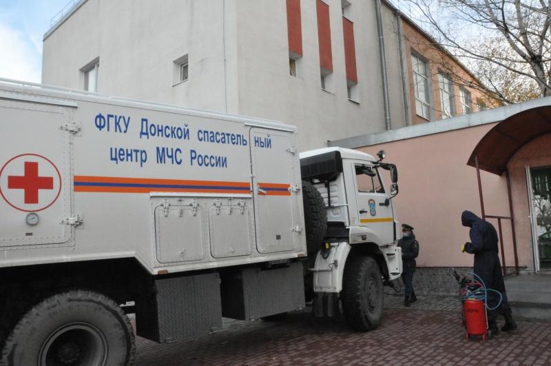 Спасатели МЧС России продезинфицируют все школы Ростова-на-Дону во время каникул