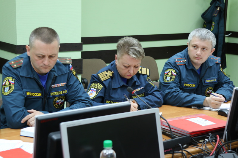 На контроле  ГУ МЧС России по Сахалинской области