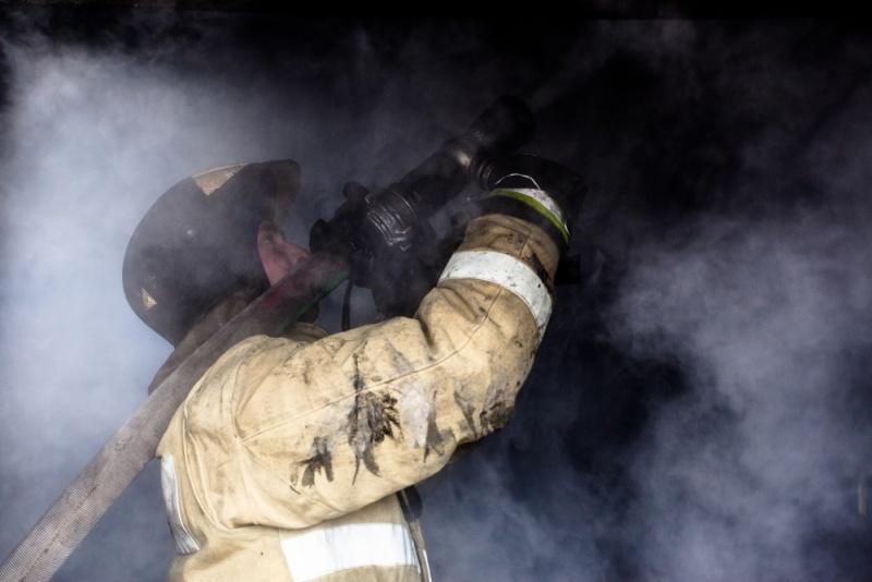 Пожар в г.Стрежевой