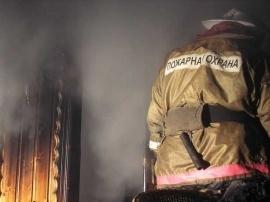 Пожар в г. Колпашево Колпашевского района