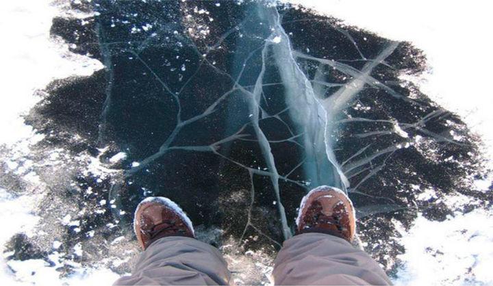 Информагентство «Красногорские вести». Красногорцам напоминают правила поведения на тонком льду