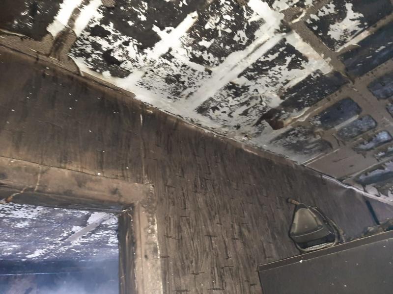 На пожаре в Бузулуке спасен пенсионер