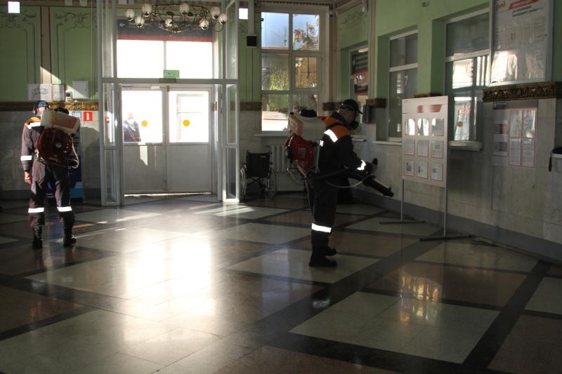 Поезд Победы во Владикавказе