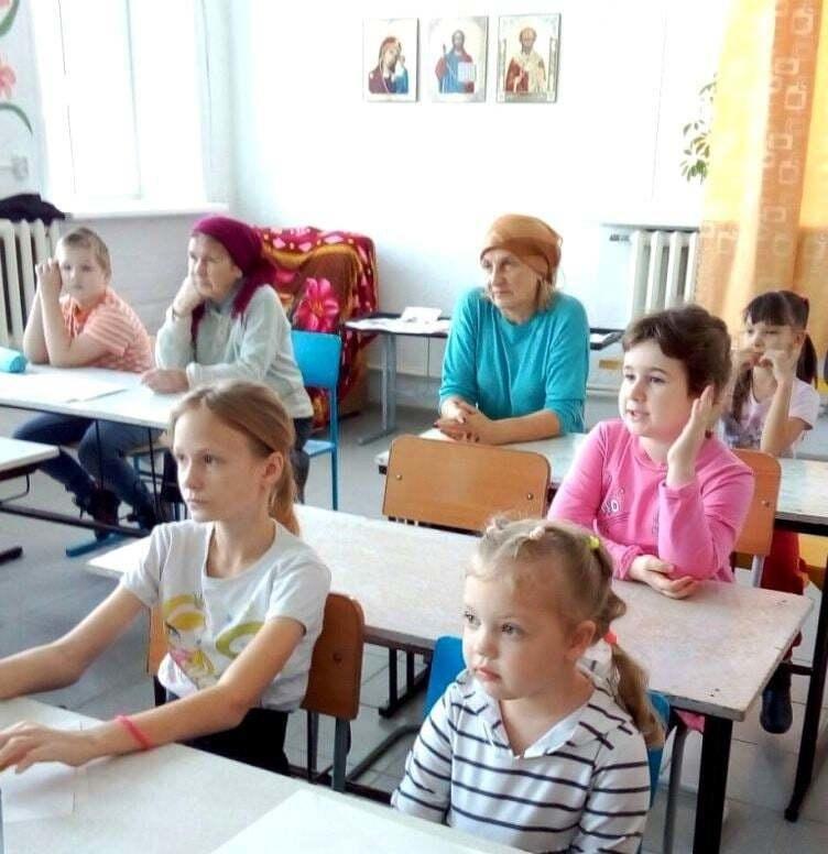 В воскресной школе при храме Преподобного Серафима Саровского в Рыбинском районе прошли уроки пожарной безопасности