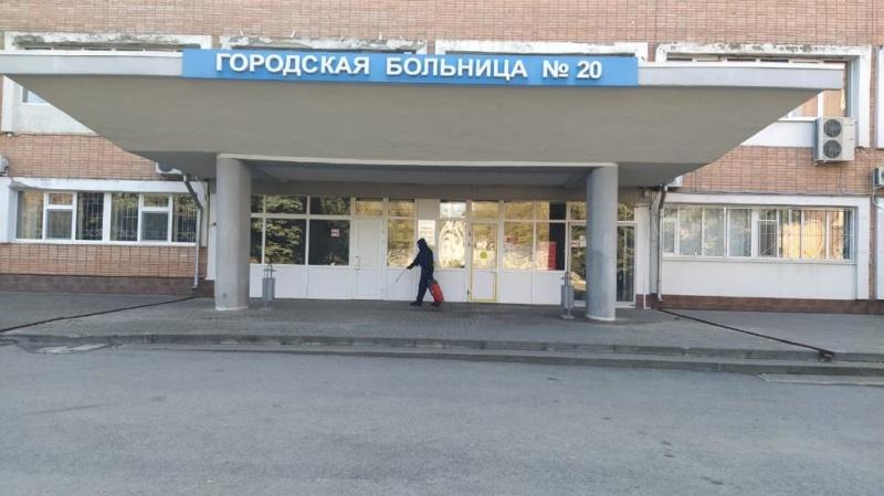 Сотрудники МЧС России продолжают дезинфицировать социально - значимые объекты