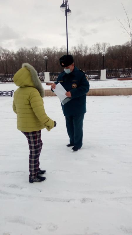 Специалисты ГИМС провели плановое патрулирование водных объектов в черте г. Оренбурга