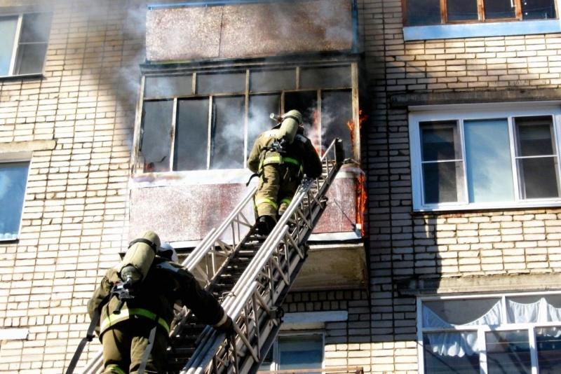 Правила поведения в случае пожара в квартире
