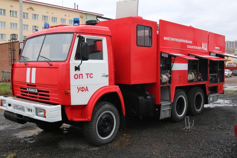 ТЕХНИКА СПАСАТЕЛЕЙ МЧС: Многофункциональная пожарная спасательная автоцистерна