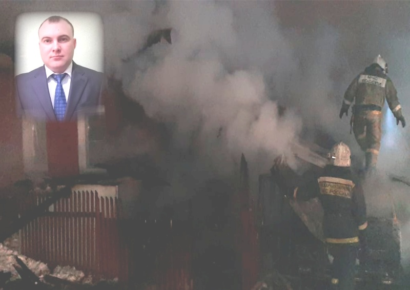 На пожаре в Первомайском районе Новосибирска очевидец спас женщину и троих малолетних детей