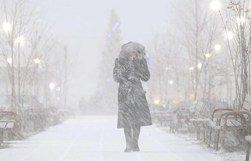 Правила поведения при снежном заносе и метели
