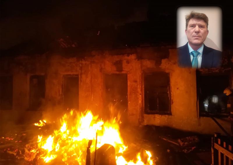 Житель Барабинска спас четверых человек на пожаре