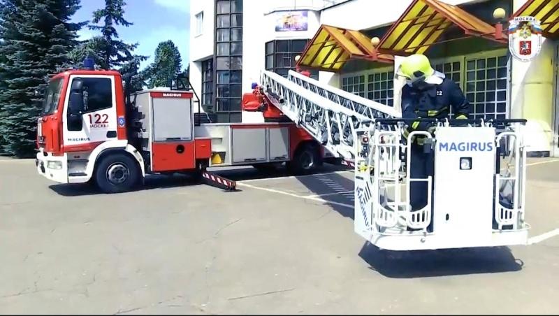 ТЕХНИКА СПАСАТЕЛЕЙ МЧС: Пожарная автолестница IVECO Magirus - 40