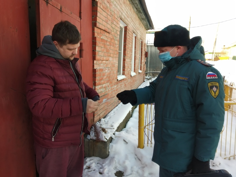 Чтобы не было беды: в Томске проходят профилактические противопожарные рейды