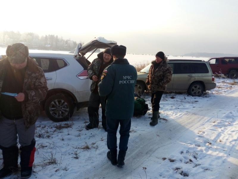 В Иркутской области пять водителей привлечены к административной ответственности за выезд на лед вне переправ