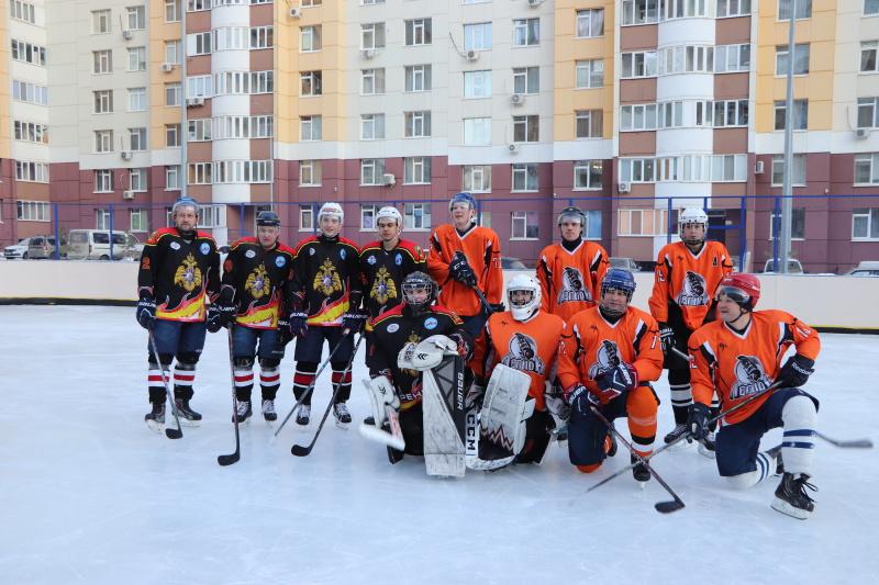 Хоккейный матч в честь 30-летия МЧС
