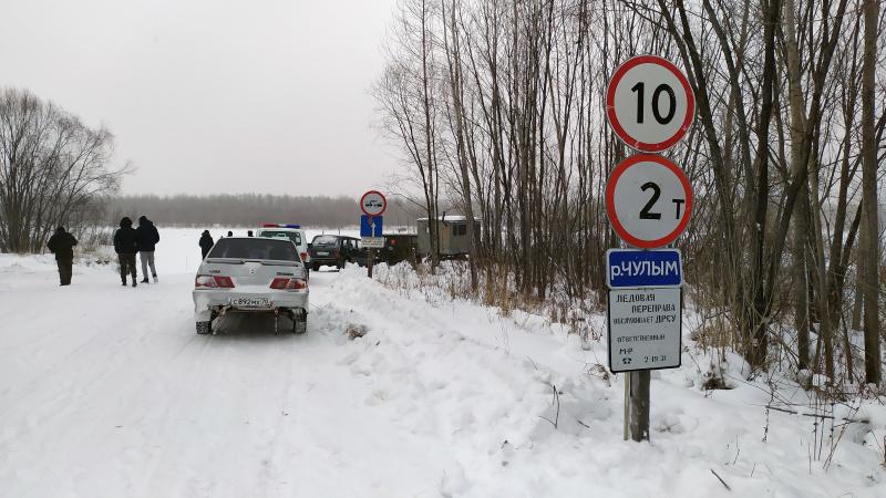 Еще 6 ледовых переправ и 2 наплавных моста открылись в Томской области
