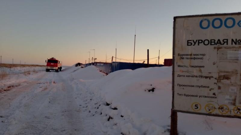 Уточненная информация по возгоранию на Таллинском месторождении-2