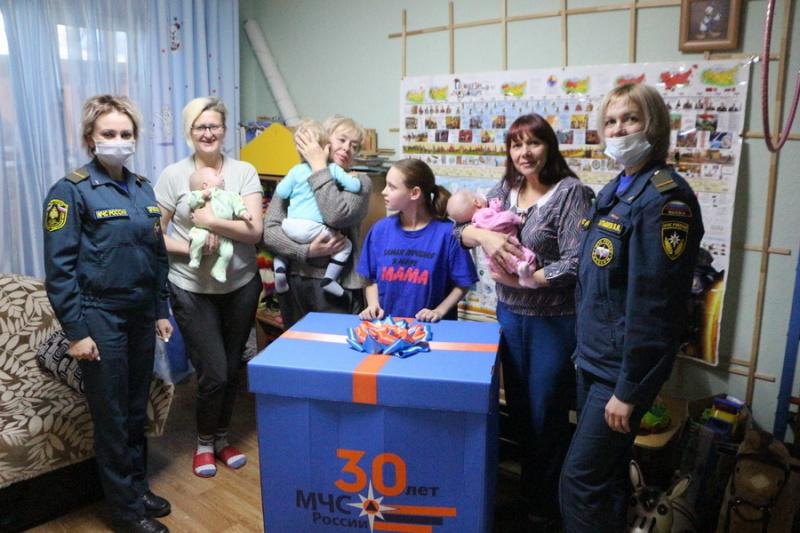 Амурский спасательный центр МЧС России принял участие в благотворительной акции