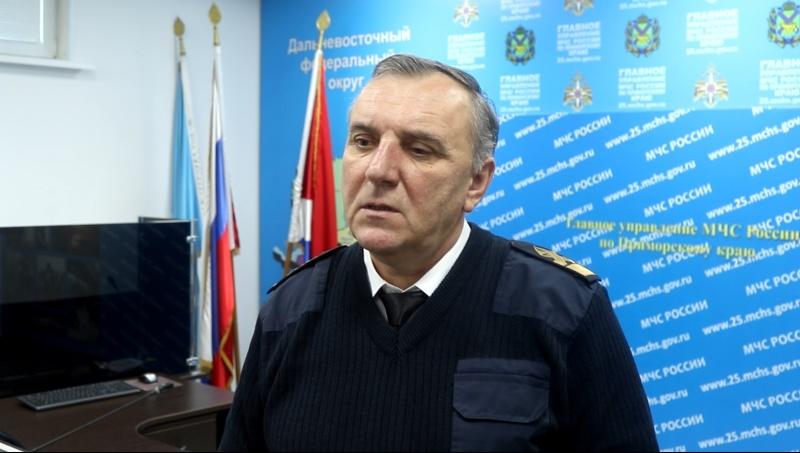 Главный государственный инспектор по маломерным судам Леонид Маковецкий рассказал о ледовой обстановке в Приморском крае