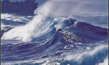 Опасное волнение моря прогнозируется в южной части Охотского  моря