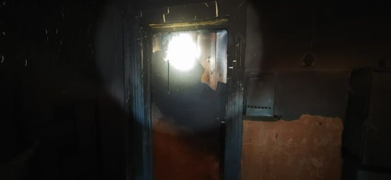 Пять человек спасены на пожаре в городе Иркутске накануне вечером