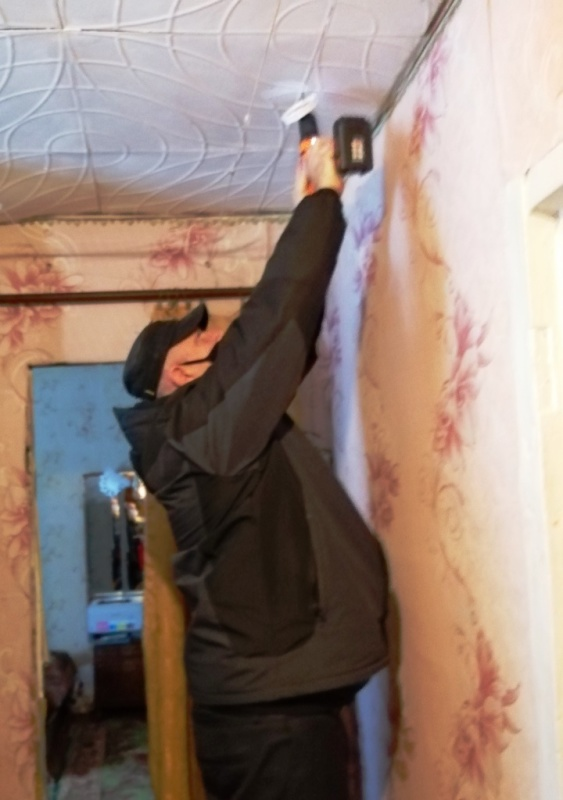 В домах многодетных семьей Макарьевского района Костромской области установили пожарные извещатели.