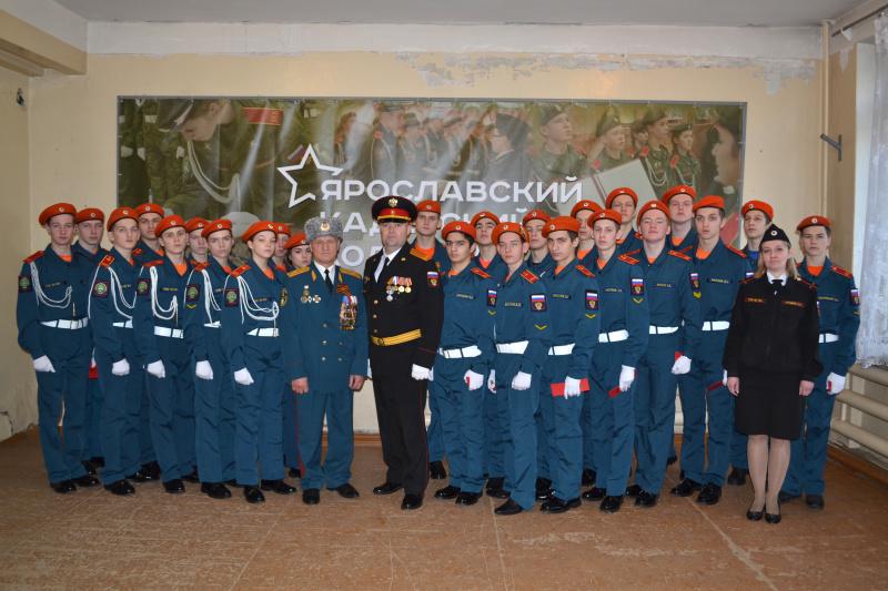 В Ярославле состоялась церемония приведения кадетов к клятве