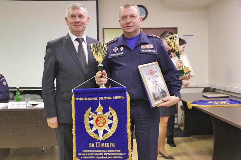 Информагентство «Большая Балашиха». Балашихинские спасатели стали вторыми в Подмосковье по итогам оперативно-служебной деятельности за 2019 год