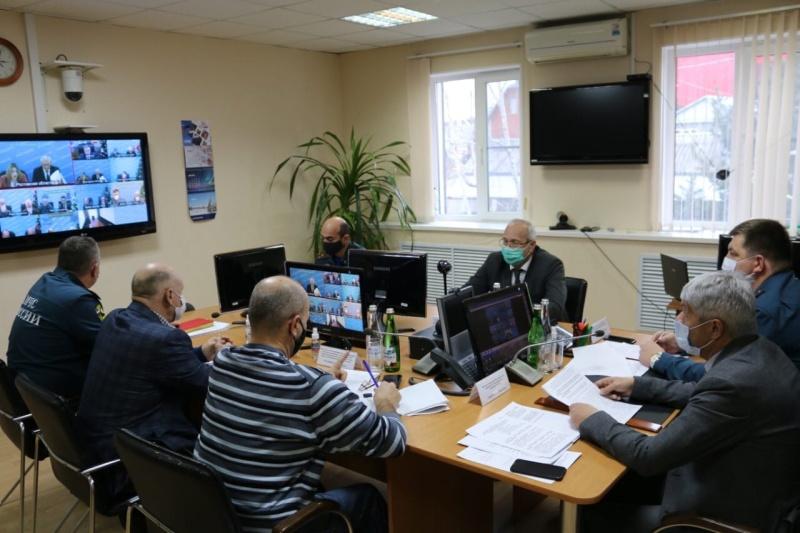 Заседание КЧС в субъектах Российской Федерации Северо-Кавказского федерального округа