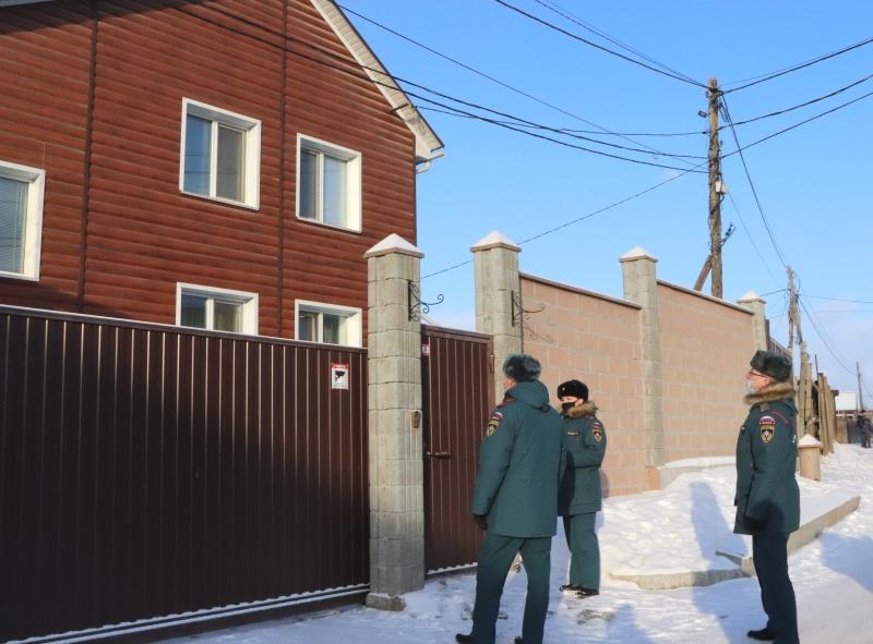 Профилактические рейды по жилому сектору проводят сотрудники надзорной деятельности