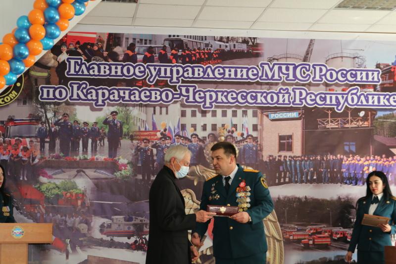 Торжественное мероприятие к 30-летию МЧС России и Дню спасателя Российской Федерации