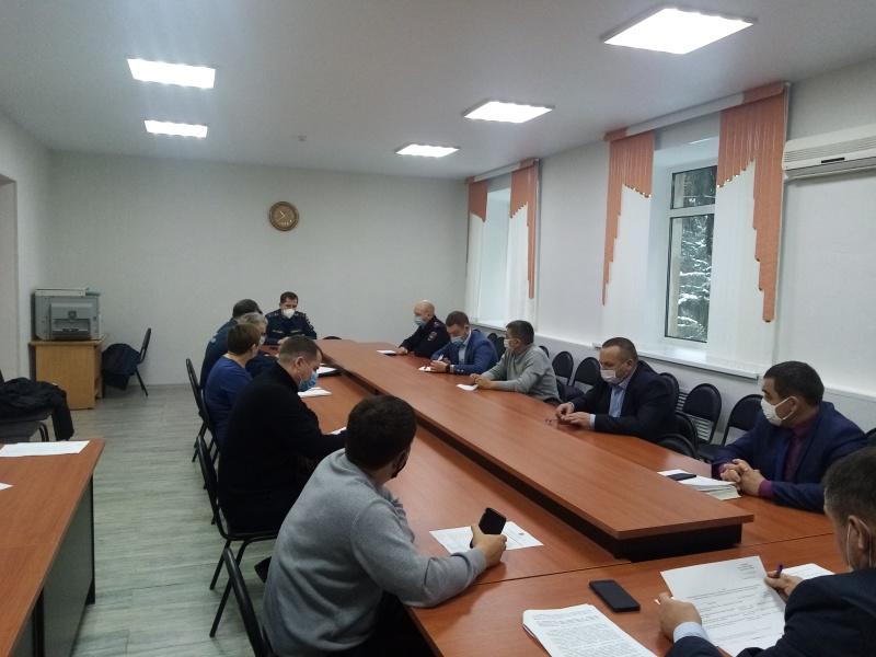 В Асекеевском районе прошло заседание КЧС и ОПБ