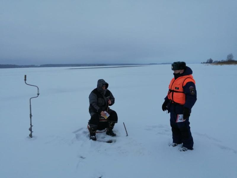 Для информации: толщина льда на водоемах Костромской области по состоянию на 28 декабря 2020 года