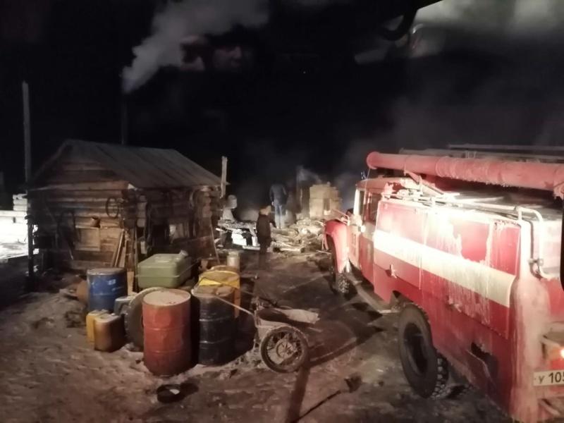 Органы дознания устанавливают причину трагического пожара, произошедшего недалеко от Сорска
