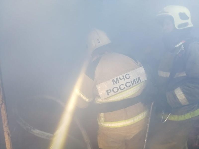 Пожар в Центральном округе города Омска ликвидирован