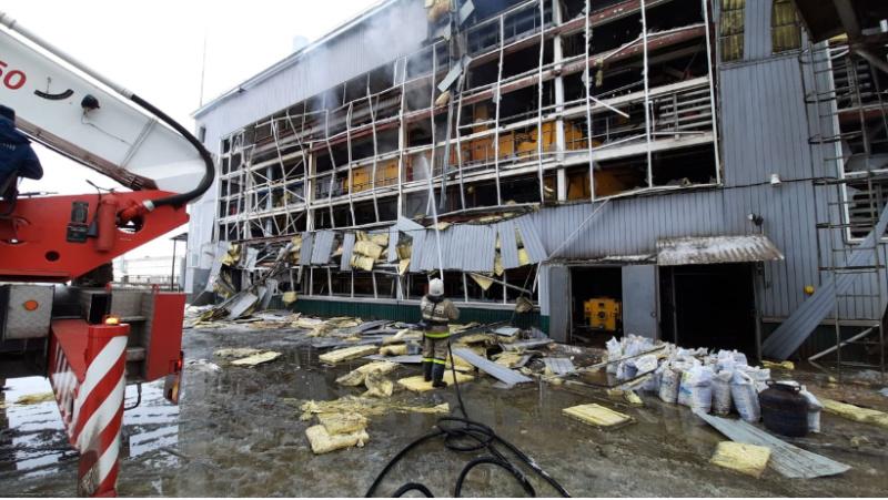Уточненная информация о пожаре в Липецком районе