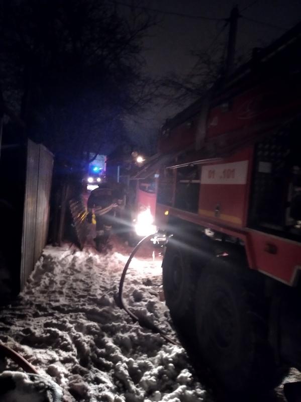 Уточненная информация по пожару в городе Рязани