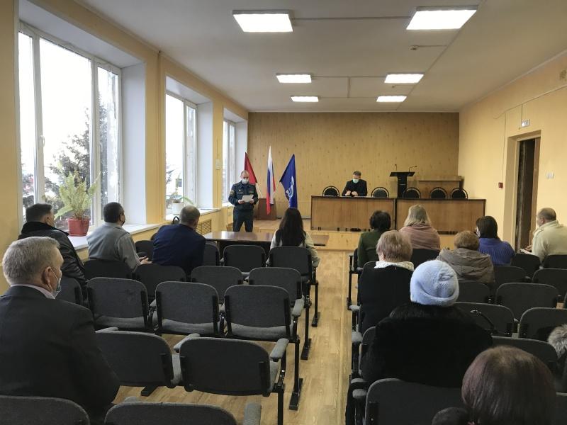 На муниципальном уровне подведены итоги деятельности территориальной подсистемы РСЧС Брянской области  за 2020 год