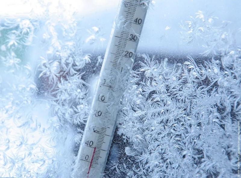 В первую неделю нового года в регион придут морозы. Будьте осторожны!