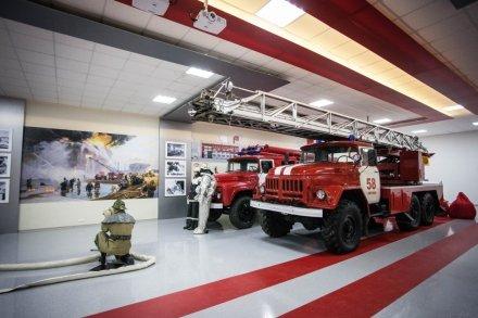 Пожарно-техническая выставка имени Б.И. Кончаева (ГУ МЧС России по г. Санкт-Петербургу)